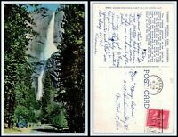 CALIFORNIA Postcard - Yosemite Falls G39