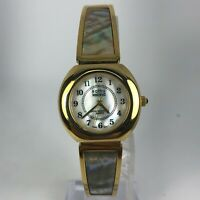 Kathy Ireland Womens 1722 Gold Tone Stainless Steel Band Watch