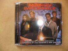 MISSION IMPOSSIBLE LALO SCHIFRIN Original 1988 series TV soundtrack CD SEALED