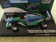Benetton Ford B194 Mick Schumacher 1:43 Minichamps Demo Belgien GP 2017