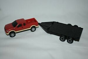 Ertl 1:64 Ford Pickup With Implement Trailer