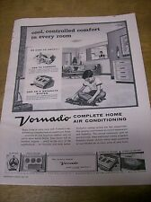 Original 1957 Vornado Air Conditioning Magazine Ad