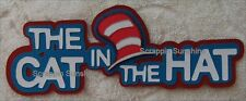 UNIVERSAL STUDIOS THE CAT IN THE HAT Die Cut Title Paper Piece - SSFFDeb