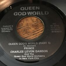 CHARLES DAWSON - queen god's world orchestra 45 SOUL / FUNK super rare MUST HAVE