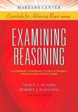 EXAMINING REASONING - TRACY L. OCASIO ROBERT J. MARZANO (PAPERBACK) NEW