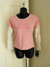 New w/Minor Flaw Wisconsin Badgers Girls Medium 10/12 Shirt by Adidas 59Yy