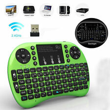 Rii i8+ Wireless Mini Keyboard Mouse Touchpad with Backlight for Smart TV PS4 PC