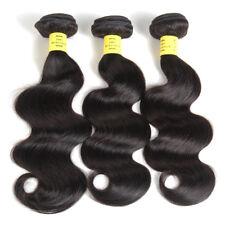 3 Bundles 150g Brazilian Virgin Hair Body Wave 100% Human Hair Extensions Weave