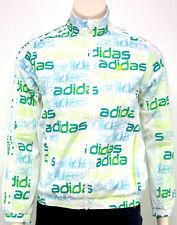 Adidas Kinder Trainingsjacke Sport Zip Jacke Weiss Grün Junge Mädchen 7-16 Yahre