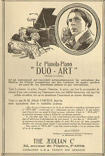 PARIS PIANOLA PIANO DUO-ART THE AEOLIAN COMPANY PUBLICITE 1923