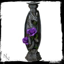 Anne Stokes candlestick of Dragon Beauty