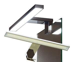 LED Klemmleuchte Spiegelleuchte Badleuchte Badlampe für Möbel Glaß #2040N-41N#