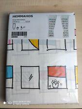 IKEA HEMMAHOS, 2 Gardinen + Raffhalte,120 X 300 cm NEU!