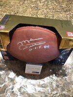 Mike Ditka Autographed Official NFL DUKE Football PSA/DNA COA HOF Chicago Bears
