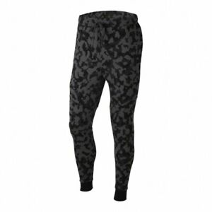 NEW NIKE Sportswear Tech Fleece Camo Jogger Pants CJ5981-010 Men's Size M