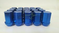 "20 ALUMINUM BLUE JEEP LUG NUTS BULGE ACORN LUGS 1/2""-20 CLOSED END 5X114.3"