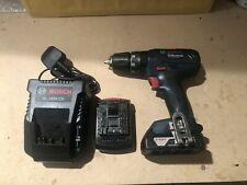 Bosch GSB 18v Hammer Drill Set Battery And Charger Lithium Cordless