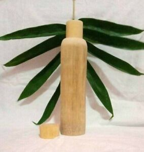 Bamboo Wooden Water Bottle - 500ml - Natural - Handmade - Eco Friendly - Healthy