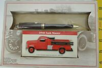 Rare Readers Digest 1948 Task Master Fire Truck and Pen Thank You Set model car