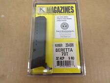 BERETTA –Model 70T 32 ACP 9 RD MAGAZINE by Triple K #2046M