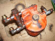 Vintage Ji Case 800 Standard Diesel Tractor Fuel Filter Housing Amp Brkt 1958