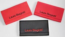 NEW~3 piece Laura Biagiotti Red CASE JEWELERY SUNGLASS Storage Bag TRAVEL Italy
