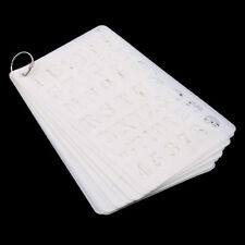 Letter Number Stencils Alphabet Stencil Journal Scrapbooking Painting Craft Jian