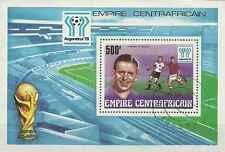 Timbre Sports Football Centrafrique BF20 o lot 2129