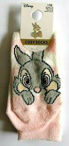 Disney Thumper Cosy Gripper Sole Women's Ladies Slipper Socks 4-8UK