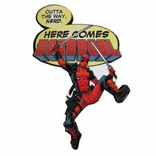 New Funky Chunky Magnet * Here Comes Deadpool * Assassin Mercenary Marvel Comics