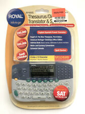 Royal Rp1000s Electronic Dictionary Thesaurus Calculator Translator Nos