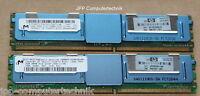 4GB 2x2GB Workstation Speicher HP Proliant DL380 G5 PC2-5300F DDR2 FB-DIMM SDRAM