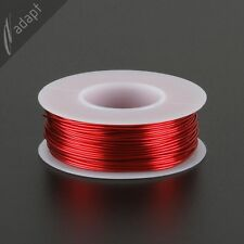 Magnet Wire, Enameled Copper, Red, 20 AWG (gauge), HPN, 155C, ~1/4 lb, 79 ft