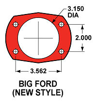"Rearend Narrowing Fixture Bushings - 8.8"" Ford Rear End with 9"" Ford 3.15"" Ends"