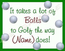 GOLF - Flexible Fridge Magnet - PERSONALIZED FOR FREE