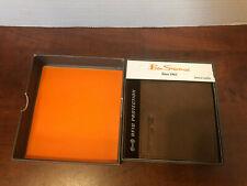 BEN SHERMAN Genuine Leather RFID Manchester colection 5-pocket bifold wallet