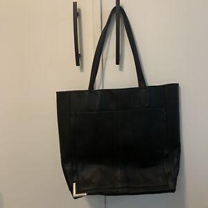 Steve Madden Cori Tote Black Silver Tote Bag