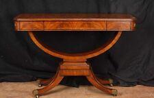 Regency Walnut Console Table Sofa Hall Tables