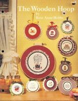 Cross Stitch The Wooden Hoop 12 Counted Cross Stitch Patterns Projects Crafts