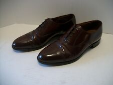 9a781173f0 BOSTONIAN Men s Oxford Dress Shoes Burgundy Leather Cap Toe Lace-up US Size  9M