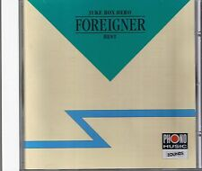 Foreigner Juke Box Hero (Best) Zounds CD RAR