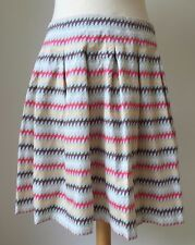 Gorgeous French Connection Multi Coloured Skirt UK 10
