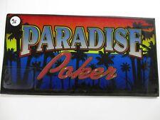 Video Poker Belly Glass (Paradise Poker)
