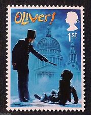 "Musical ""Oliver"" illustrated on 2011 Stamp - U/M"