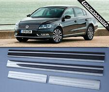 VW Passat (2011 - 2015) Stainless Steel Sill Protectors / Kick Plates