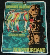 Disneyland Tiki Room Attraction Poster Ornament Keychain Pendant Necklace