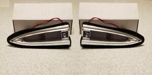 1959 Chevrolet Park Light Assembly Pair Full Size & El Camino Models LH RH New