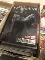 """""""X-Men"""" Death of Wolverine #4 Foil Cover Comic Book """"WOW"""" LOOK 10% Donated WWP"""