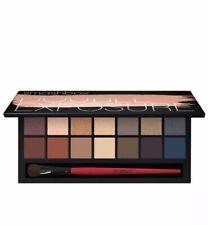 Smashbox Double Exposure 2.0 Eyeshadow Palette w/ Brush 14 Colors Wet/Dry New