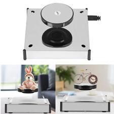 Magnetic Levitation Floating Shelf LED Platform Hover Disc Desktop Display New